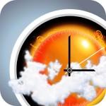「eWeather HD」iPhone通知センターウィジェットに1時間毎の天気予報を表示できるアプリ