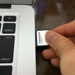 MacBookAirの容量を128GB増やす方法→ぴったり入るJetDrive Lite(メモリーカード)を入れる