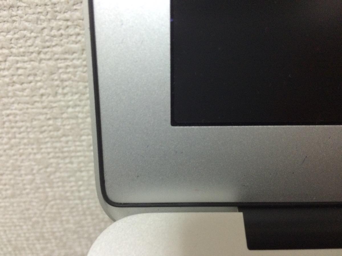 Macのアンチグレアフィルム