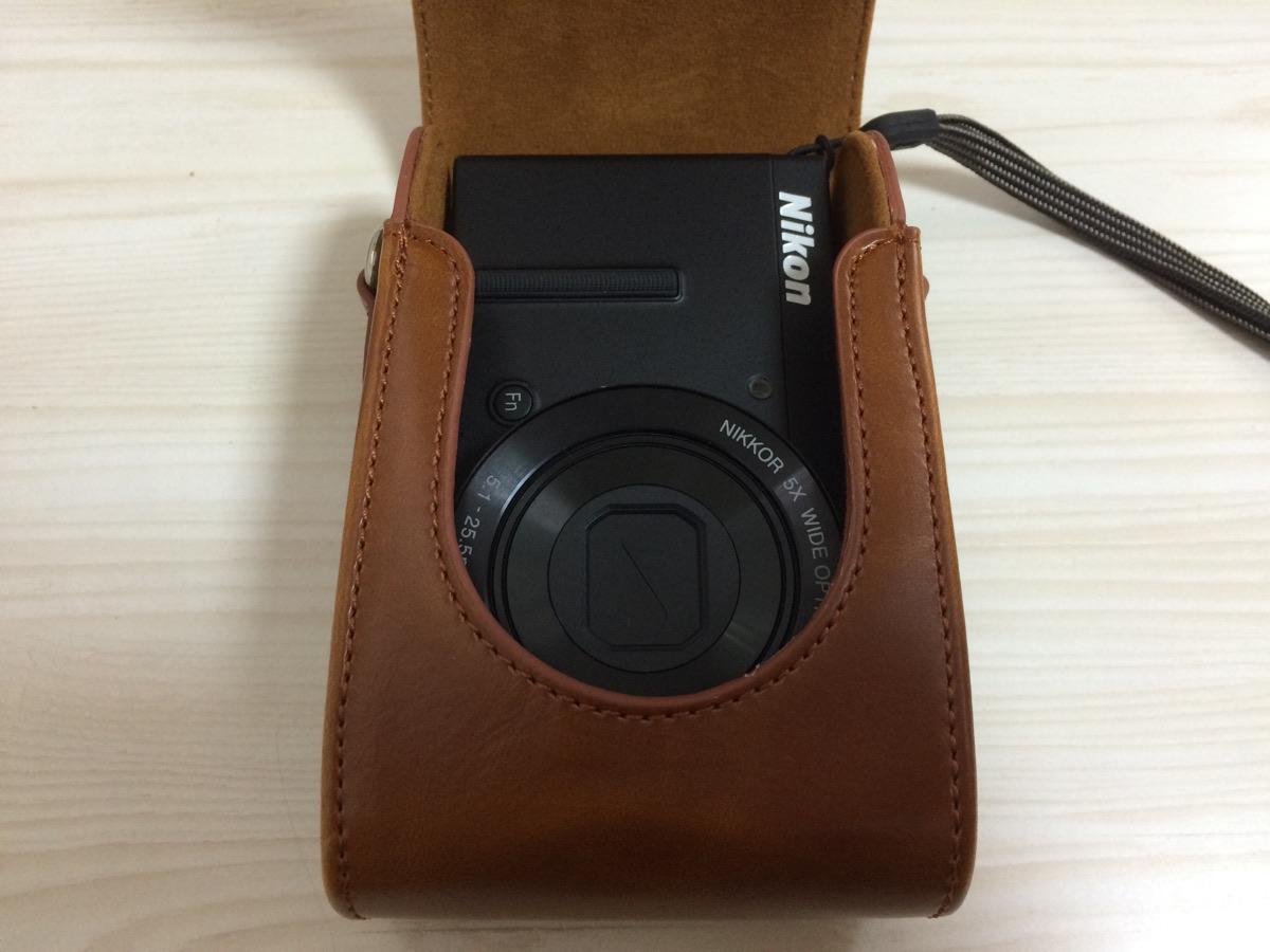 Nikon P340のレザーケース