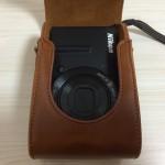 Nikon P340用の非純正レザーカメラケースを購入した