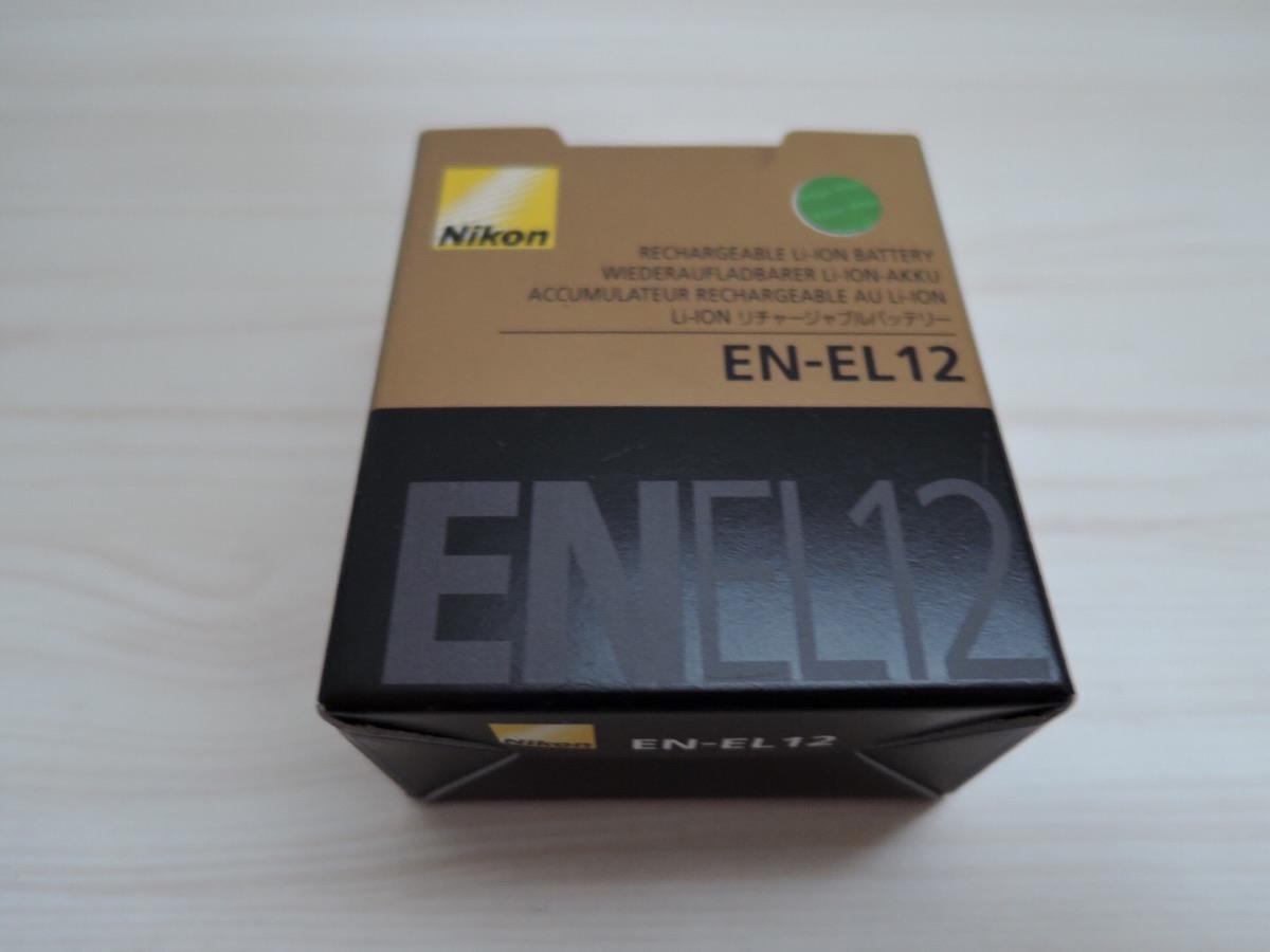 Nikon P340用の予備バッテリー