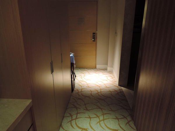 マリーナベイサンズの部屋