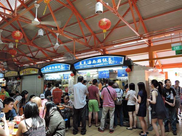 チャイナタウンの鶏飯