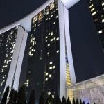シンガポールのマリーナベイサンズホテルに宿泊