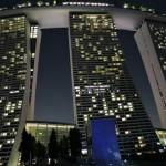 シンガポール旅行記〜ホテル「マリーナベイサンズ」に到着