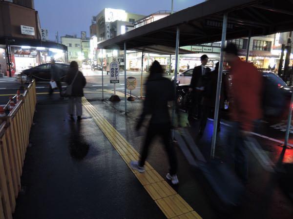 高山駅のタクシー乗り場