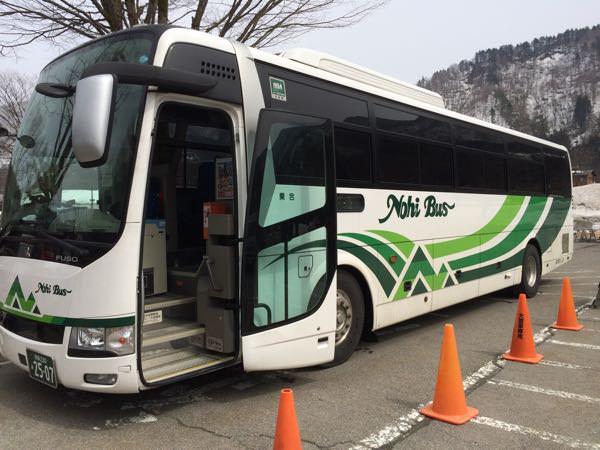 濃飛バスの車体