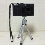 100均のダイソーで購入できるデジタルカメラ用三脚レビュー