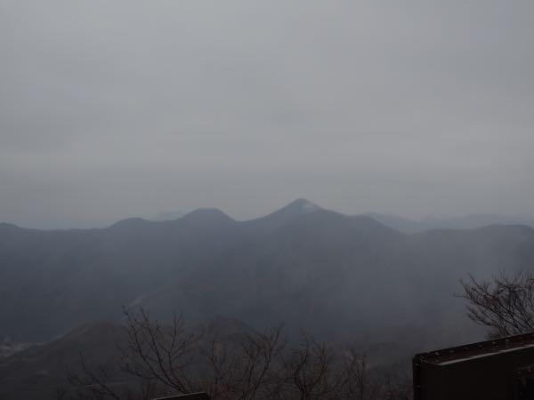 明智平展望台からの眺め