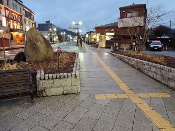 JR日光駅前