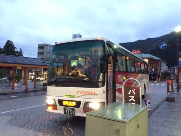 日光の東武バス