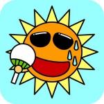 熱中症対策「暑さ指数」を手軽に確認出来るiPhoneアプリ「熱中症警戒計」