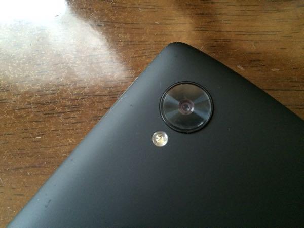 Nexus 5のフラッシュライト