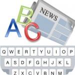 【iPhone】英語キーボードのタイピング練習アプリ「News Typing」