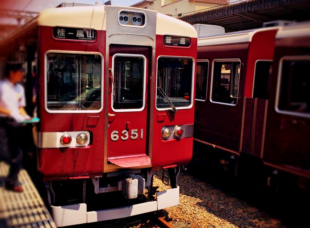京都嵐山観光桂駅