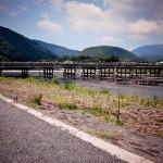 京都の嵐山(渡月橋・嵯峨野の竹林・トロッコ列車)観光旅行記