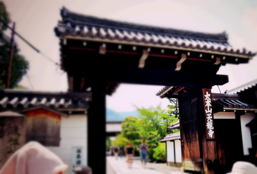 京都の天龍寺