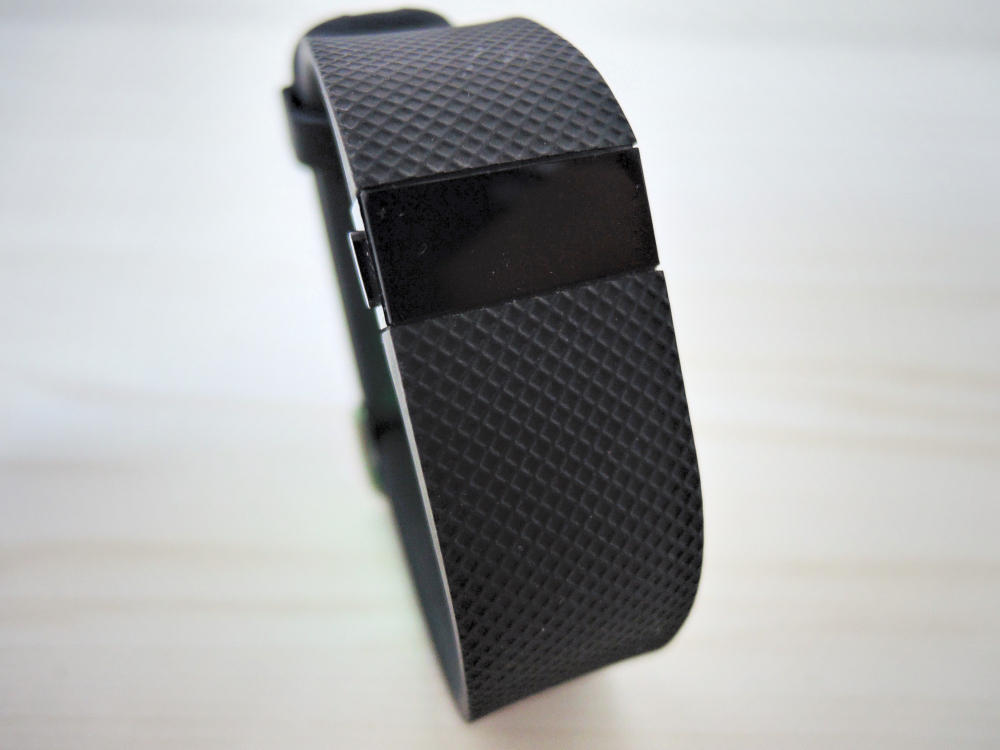 fitbit chargehrの使い方