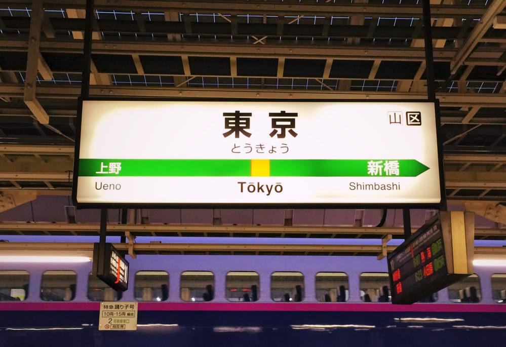 JR東海道線東京駅