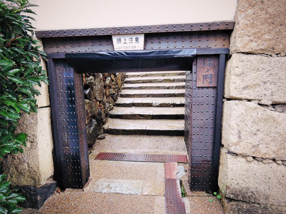 姫路城のはの門