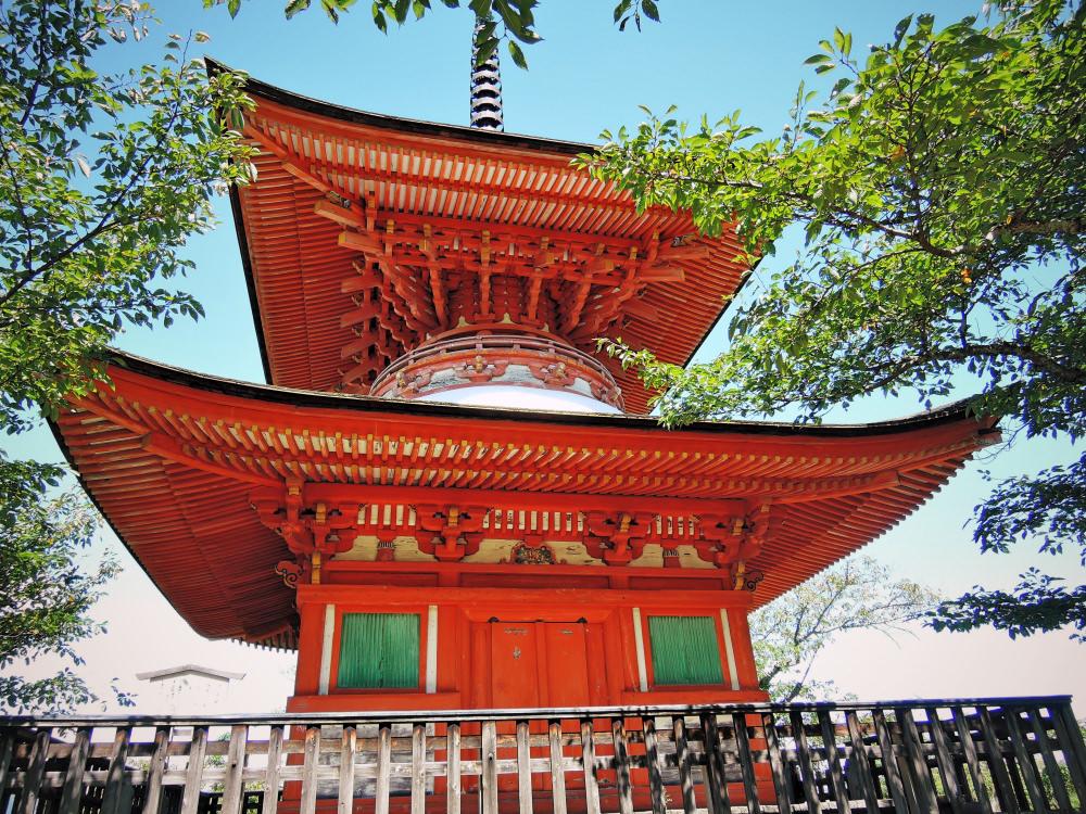 宮島の多宝塔