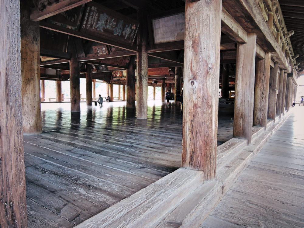 宮島の千畳閣