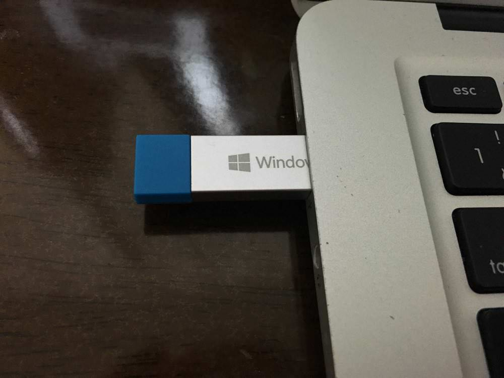 Windows 10のUSB